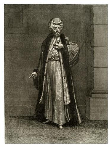 025-Gentilhombre turco-Recueil de cent estampes…1714- M. Le Hay
