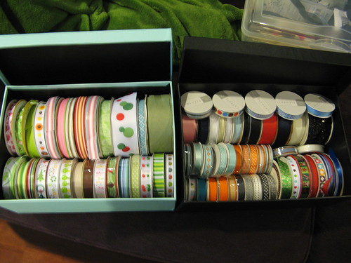 Organized Ribbon