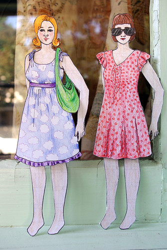 Two New Paper Dolls