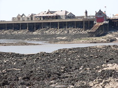 Birnbeck Pier and Lifeboat Station -  Weston Super Mare  [ 16th June 2010 ] (Lenton Sands) Tags: victorian westonsupermare