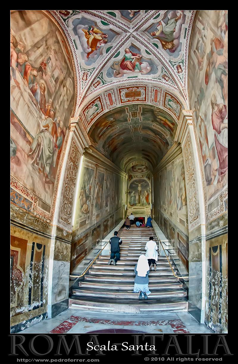 Roma - Escalera Santa