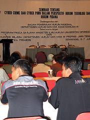 Gbr: Loenpia at Seminar Cyber Crime
