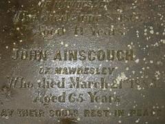 John Ainscough d.1883