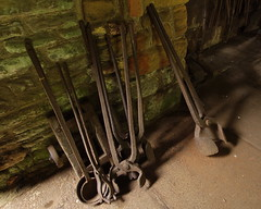 Down Tools (Roger B.) Tags: industry museum geotagged rust tools industrialarchaeology zd 1122mm geo:lat=53494719 geo:lon=155765 wortleytopforge