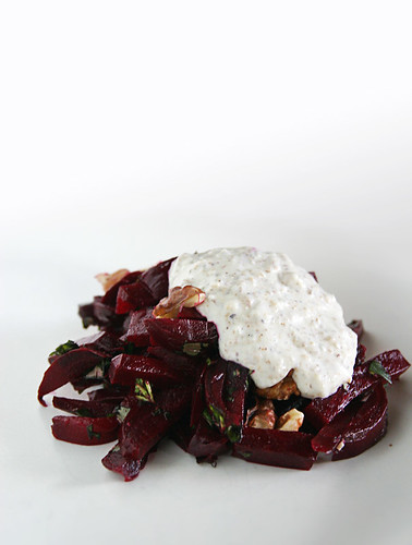 Beet, Blue Cheese & Walnut Salad