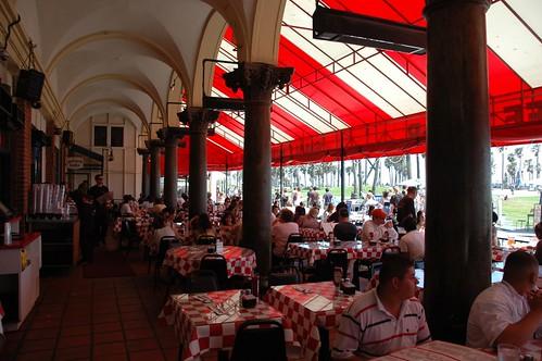 Sidewalk Cafe, Venice Beach
