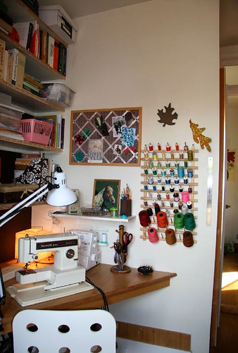 Pink Olive Sewing Room