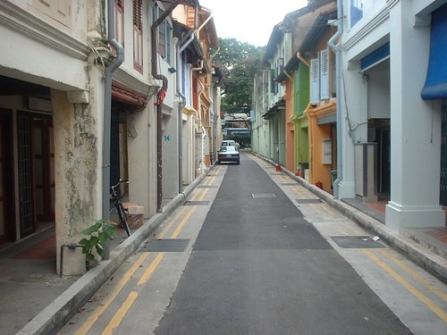 Street with arcades, Singapore