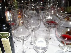 glasses wine