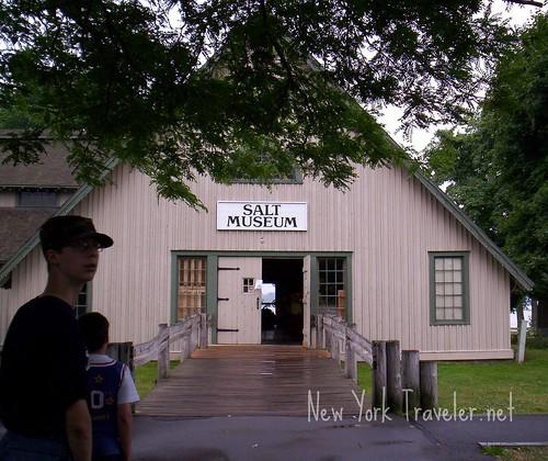 Salt Museum Entrance