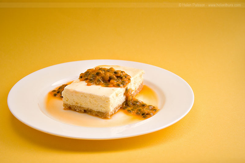 Grandmum's cheesecake 1