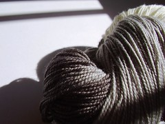 b + w (a thousand black dreams) Tags: white black grey knitting sockyarn flickrsbest yarnpirate