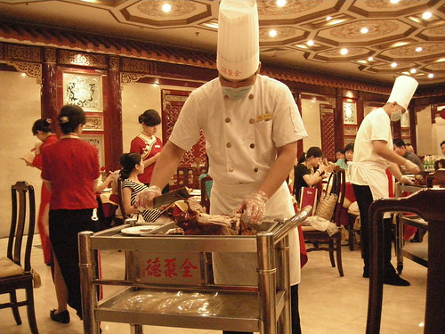 Carving up our duck by einalem