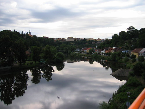 The river, looking toward Tabor