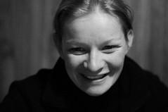 Aurl (deloscampos) Tags: portrait alps smile blackwhite aurelie chamrousse