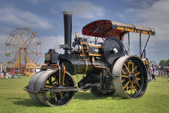 Gorgoroth (Robert Silverwood) Tags: show black vintage rally engine steam roller steamroller fowler gorgoroth kemble maxhine