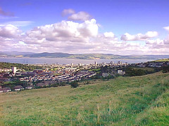 Greenock Cut view over Clyde