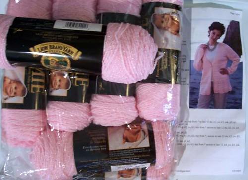 Shimmery V-Neck Cardigan Kit