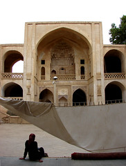 solitude (Alieh) Tags: geotagged persian friend iran persia mosque iranian  geotag esfahan isfahan        khorshid jamemosque natanz  aliehs alieh       upcoming:event=235013 natanzjamemosque