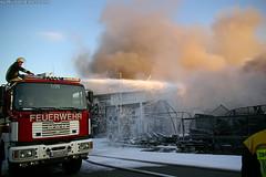 Großbrand Reifenlager Pfungstadt