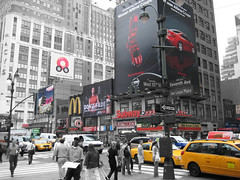 West 33rd Street/Seventh Avenue - New York, New York by wallyg, on Flickr