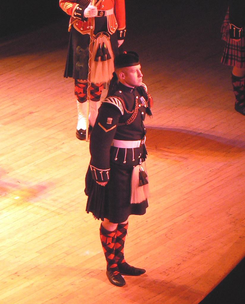 Dancing Soldier (The Black Watch)