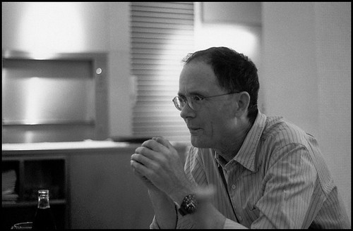 William Gibson - cc David Alliet - 2007