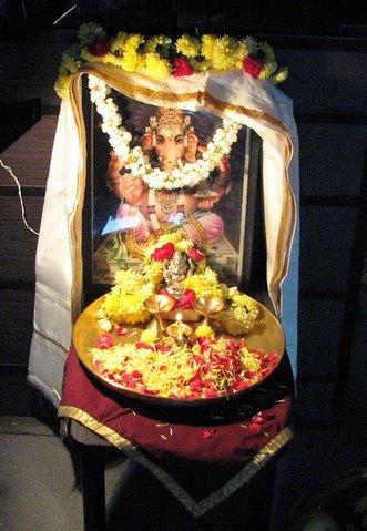 Vinayaka chaturthi puja, 150907