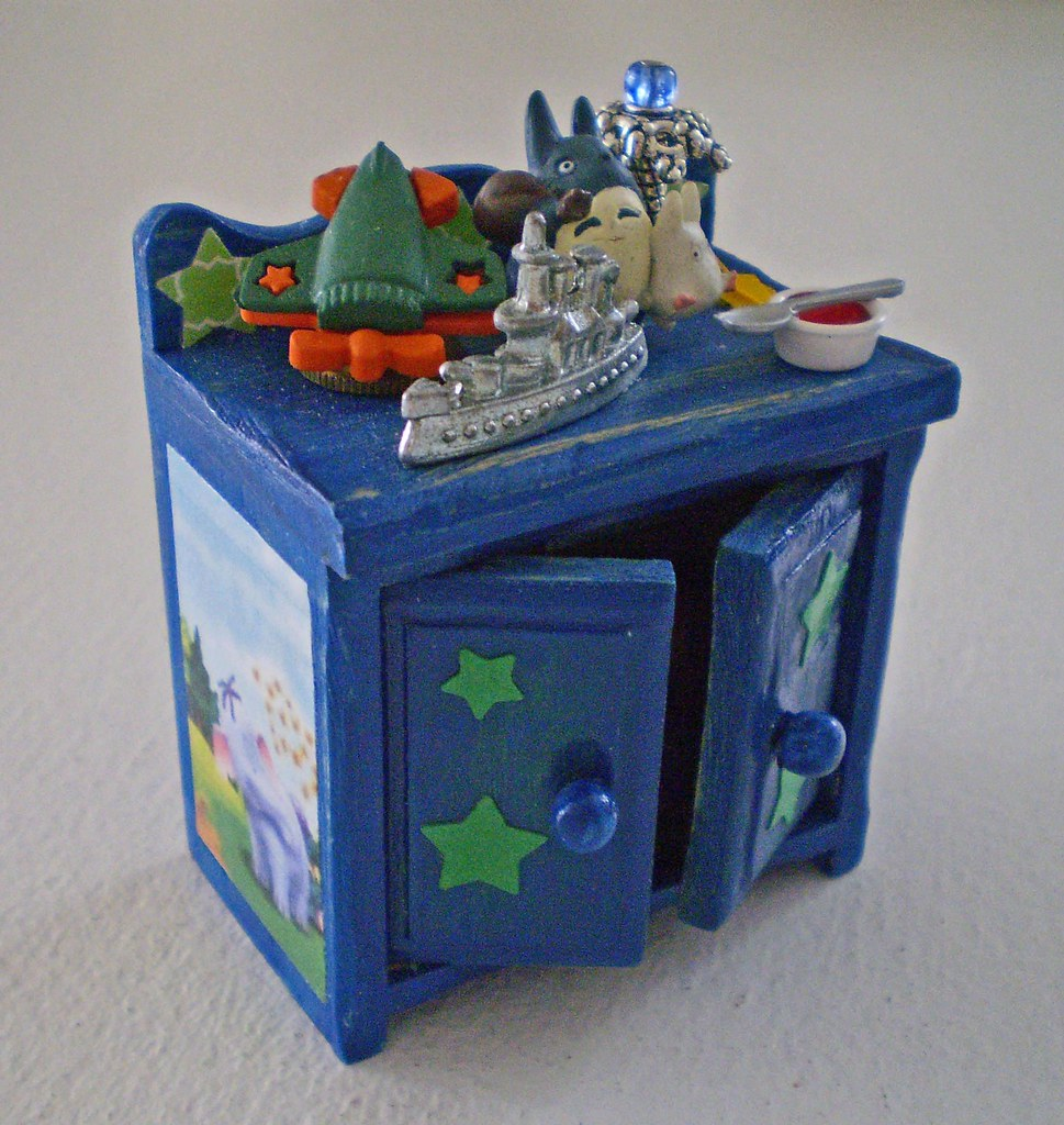 A Little Boy's Enchanted Toy Cabinet ~1:12th Scale