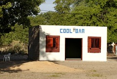 Cool Bar (cowyeow) Tags: poverty africa street old silly bar weird town crazy funny sad african empty wrong prostitution alcohol badsign booze rough taliban decrepit namibia funnysign dilapidated brothel rundown namibian uglybuilding funnyname funnyenglish ruacanafalls ruacana crapsign funnyafrica