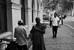 LIFELESS MOTION  (Humans & Elephants) Tags: life street bw white motion black art photography death freedom photo buddhist sri lanka journey mm 18 55 rebirth six kandy tempel lifeless d60 dalada maligawa betweens matale aravinda rathnyake
