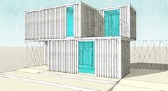 SK2 (Tercera Piel Arquitectura) Tags: concurso contenedores containers viviendaunifamiliar arquitecturaexperimental tercerapielarquitectura