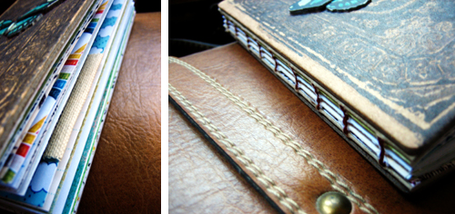 Handbound Travel Journal Close