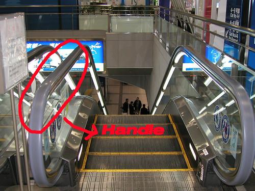 escalator copy