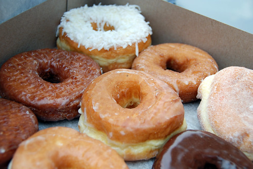 Old Fashioned Donuts: Box of Donuts