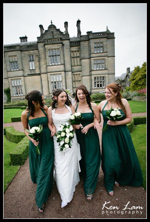 Matfen Hall Wedding,Northumberland