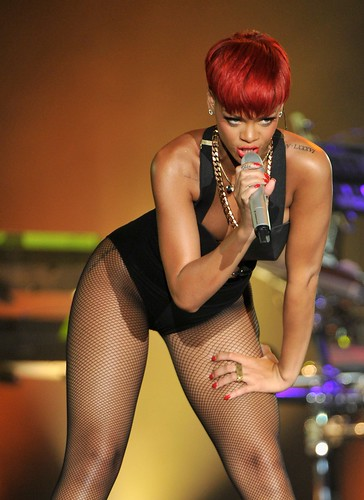 Rihanna performs during the Rock in Rio