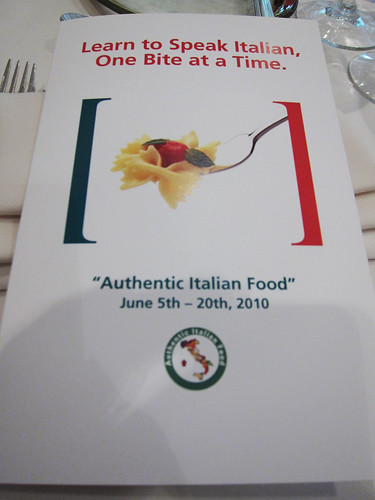 Authentic Italian Food Restaurant Promotion