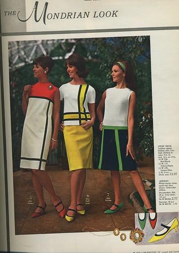 Spiegel 1966 The Mondrian Look
