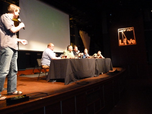 Greg Koch MC'd the Panel of 5 Philly Area Brewers