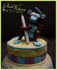 Gumpaste figurine.. Monkey (PurthePoohBear) Tags: birthday baby cake kids monkey figurine bake gumpaste ondant
