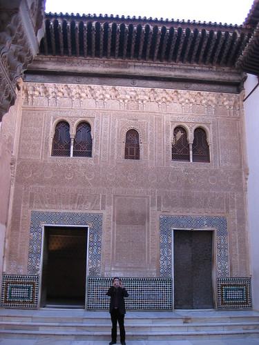 An Alhambra exterior