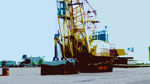 Crane -Dundalk Harbour