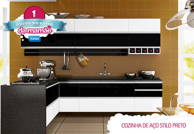 A Cozinha Stilo, foi a estrela do concurso. Sendo a cozinha preferida do Internauta.
