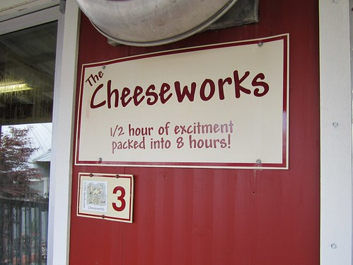 Where the cheese is made
