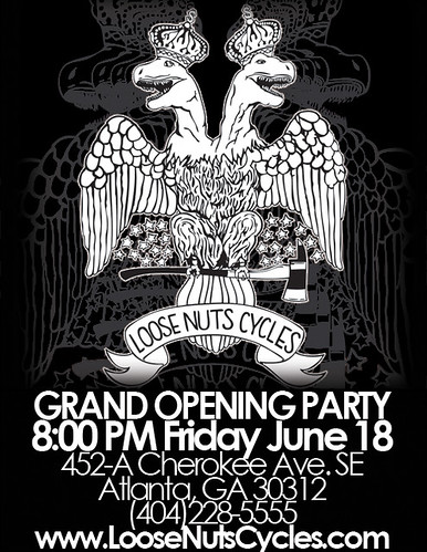 Grand Opening @ Loose Nuts Cycles