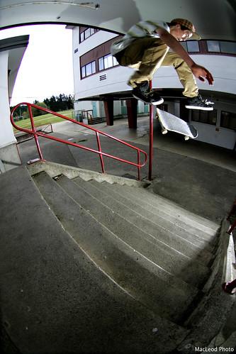 Benson Wishart - Nollie Flip