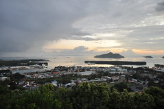 Victorian dawn (pentlandpirate) Tags: city sea sky island dawn republic harbour capital indianocean victoria seychelles mahe praslin seychellen steanne seychelle