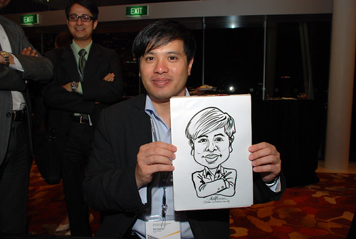 caricature live sketching for 2010 Asia Pacific Tax Symposium and Transfer Pricing Forum (Ernst & Young) - 11
