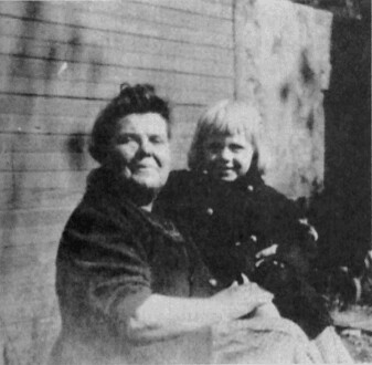 Image of Kate Felton Dukenfield with her grandson